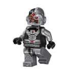 Lego DC Justice League Cyborg super hero minifigure 2015 @sold@